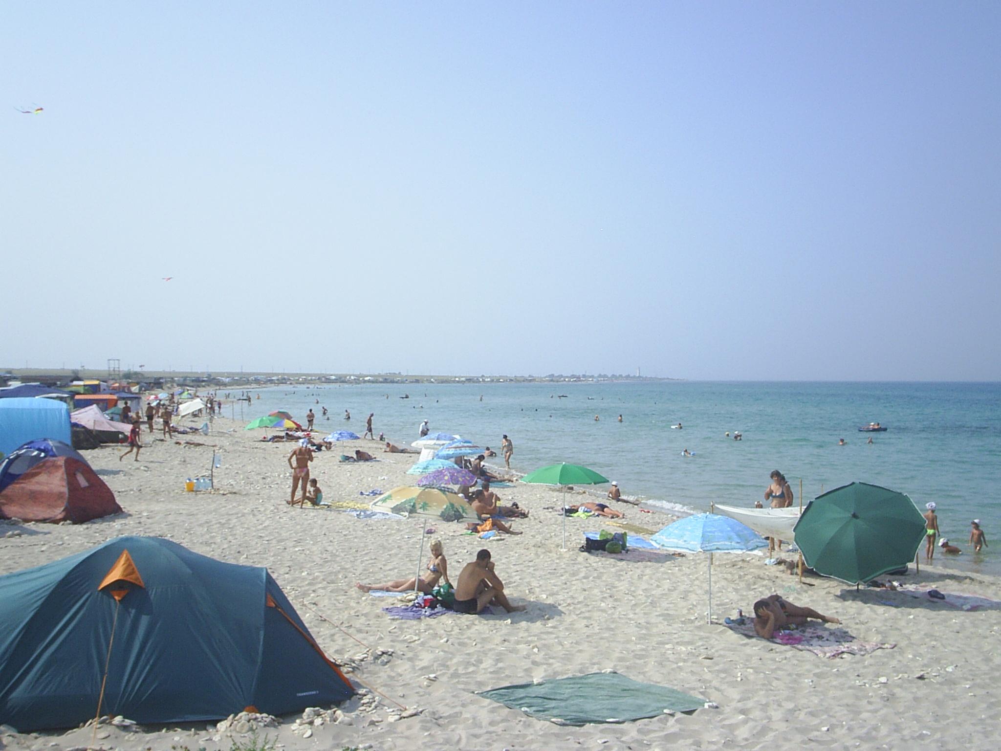 Пляж в селе оленевка фото